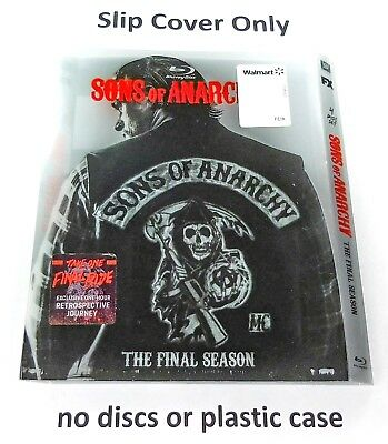 Sons of Anarchy: The Final Season - Slip Cover Only (no blu ray)