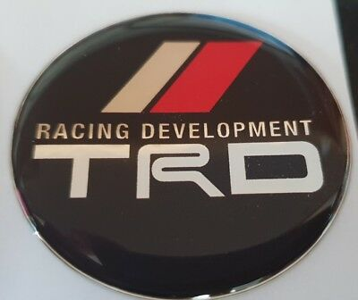 toyota trd celica, mr2, supra steering wheel badge rare jdm