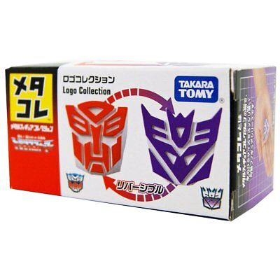 Metacolle Metalcore Transformers G1 Logo Collection Faction Symbol MISB IN USA