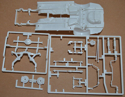 Revell 1/25 2010 Ford Shelby Gt500 Complete Chassis & Suspension Set - 25 Parts!