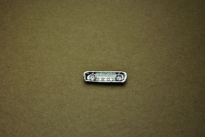 Monogram 1/24 1964 Ford Mustang Chrome Interior Instrument Panel - 1 Total Part!