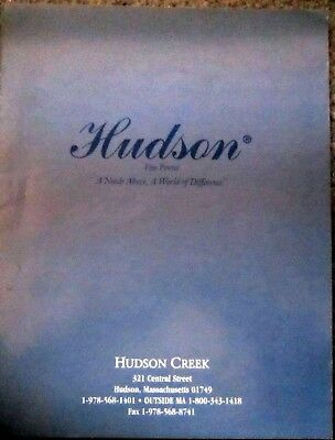 Hudson Pewter Villagers Included in  1998 CATALOGUE