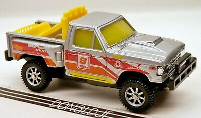Maisto/Tonka 1992-1996 Ford F-Series Stepside Racer Silver 1/64 Scale Diecast