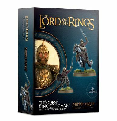 Warhammer Hobbit Theoden King of Rohan The Lord of the Rings plastic new