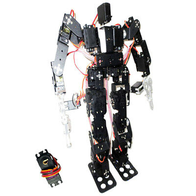 19-DOF Biped Humanoid Kit with SR319 Digital Servos and Controller