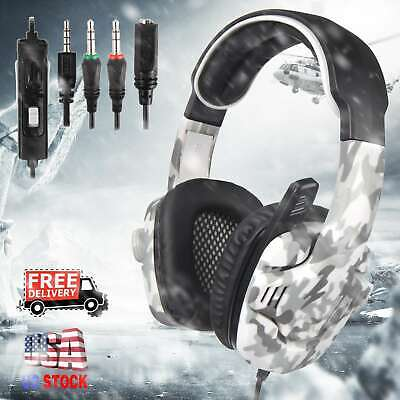SADES SA-708 GT Surround Gaming Headset Headphone for PC PS4 Xbox One With Mic