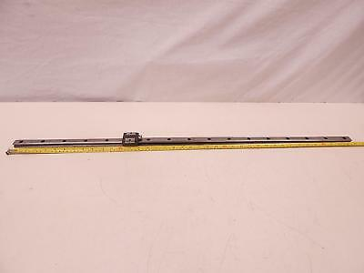 "THK Y70162 Bearing on 39"" CNC Linear Slide Rail"