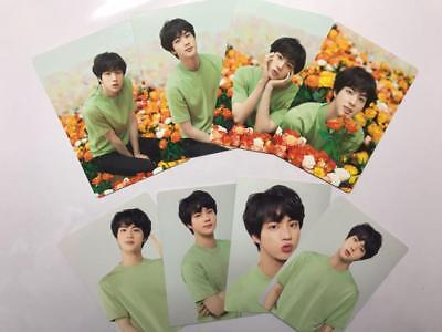 BTS JIN World Tour Love Yourself Official MINI PHOTO CARD SET OF 8 JAPAN 2018
