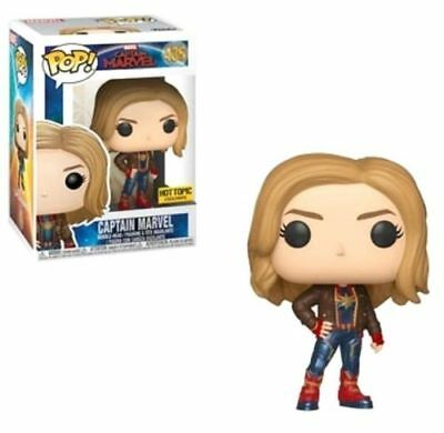 Funko Pop! CAPTAIN MARVEL - Hot Topic Exclusive PRE ORDER! NM to M