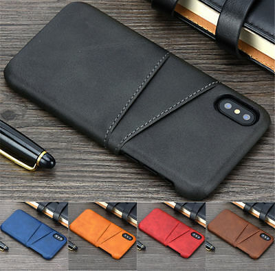 For Huawei P20 Lite/Pro New Wallet Credit Card Slot Leather Case Back Cover Skin