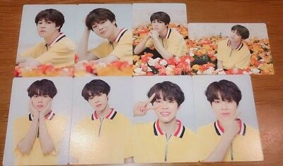 BTS JIMIN World Tour Love Yourself Official MINI PHOTO CARD SET OF 8 JAPAN 2018