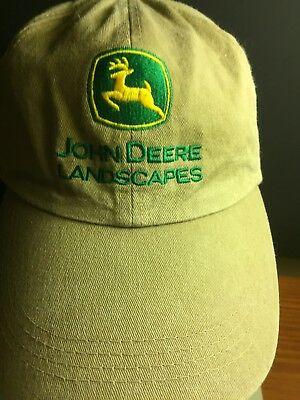342894b179e John Deere Landscapes Khaki Tan Bucket Hat Port Authority L XL Gardening  Fishing