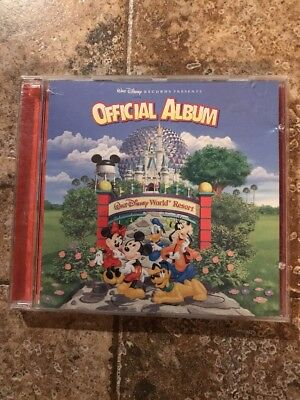 "Walt Disney Records..""the Official Album Of Walt Disney World""...oop Souvenir Cd"
