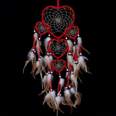 Handmade Dream Catcher with feathers car or wall hanging decoration ornament NEW