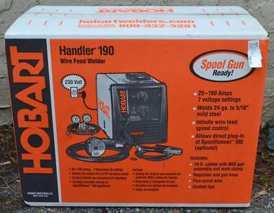 Hobart Handler 190 Wire Feed Welder - NEW