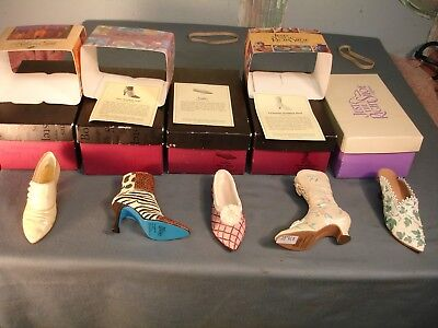 Just The Right Shoe 5 NIB 1 Loose 25014 25061 25086 25415 25111  25088