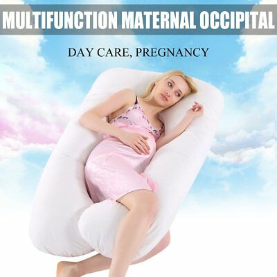 9ft U Shaped Pillow - Total Body Comfort Ideal for Pregnancy & Maternity Use F5