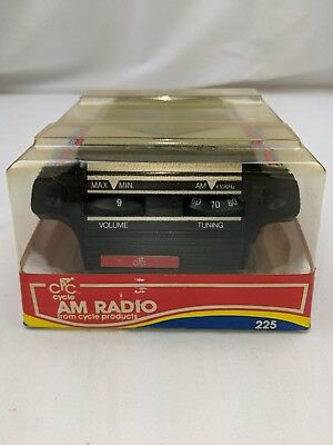 CPC Bicycle AM Radio Vintage Cycle Products Unopened Package