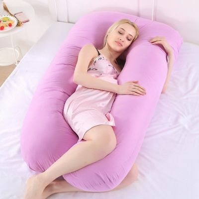 U Shaped Pillow - Best Pregnancy Maternity Use Pillow, Full Comfort Body Support