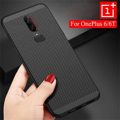 For OnePlus 6T 6 5T Shockproof Ultra Slim Matte Hard Back Case Protective Cover