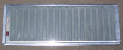 "Vintage Air-In Ventilator Metal Expandable Sliding Window Screen, 18"" To 35"""