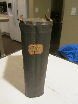 Surgery Homoeopathic Ref Book c1879 Helmuth 4th ed. 568 Wood Cuts RARE Original