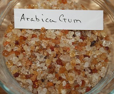 10gr GUM ARABIC / ARABICA RESIN INCENSE (ALSO AS A DIABETIC AID)