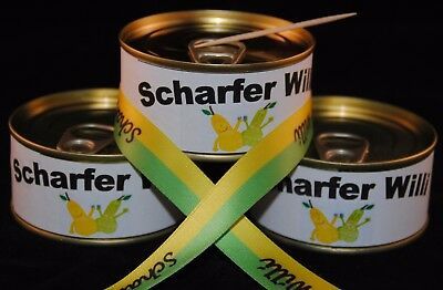 Scharfer Willi in der Dose // 5 Dosen Williams Christ Birne Schnaps