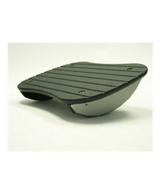 Sunway 3 Inch Rock N Stop Footrest Black