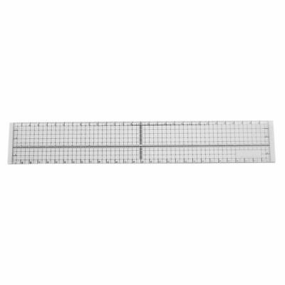 30cm DIY Sewing Patchwork Foot Aligned Ruler Quilting Grid Cutting Tailor  H1H1)