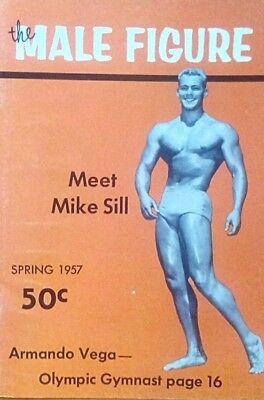The male figure Gay interest Magazine Spring 1957