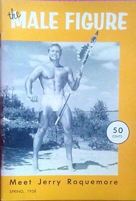 The male figure gay interest Magazine spring 1958
