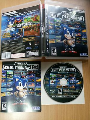 PS3 Sonic's Ultimate Genesis Collection (Sega Mega Drive Set) SONY PLAYSTATION 3