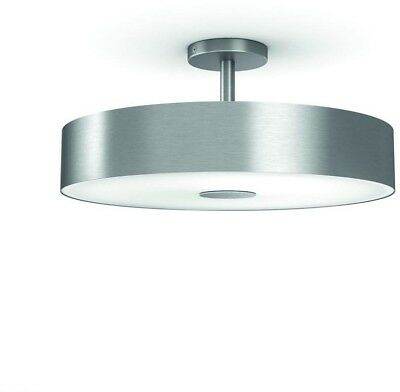 PHILIPS Hue Smart Ceiling Flushmount LED Light Fair Dimmable 39W, White Ambiance