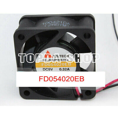40x40x20mm FD054020EB 40mm 5V 0.32A 3Wire 4cm Cooling Fan