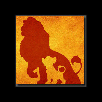 Disney Lion King Inspired Wall Art - High Quality Print on Poly-Matte Canvas
