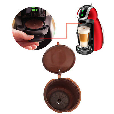 Refillable Reusable Coffee Capsule Pod Cups Nescafe Dolce Gusto Machine Tool Lot