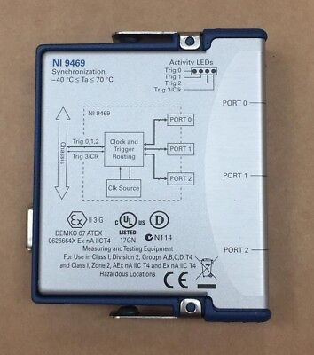 National Instruments Synchronization Module NI 9469, tested working, C series