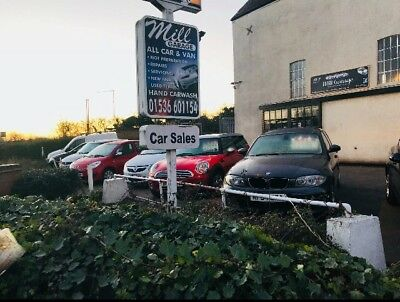 Sales/car Forecourt/garage/compound to let, Cars/bikes Vans