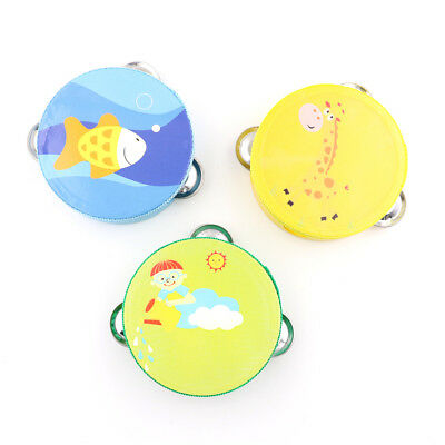 Baby's Musical Instrument Baby Drum Children Hand Bells Musical Instrument  X