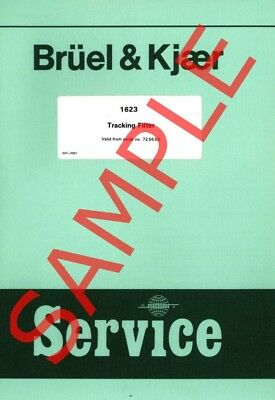 Bruel & Kjaer SERVICE manuals in PDF