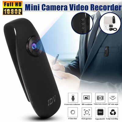 HD 1080P Mini Camcorder Dash Cam Body Motorcycle Bike Motion Action Camera @s