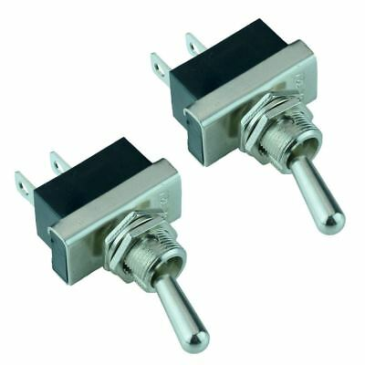 2 x On-Off Toggle Switch SPST