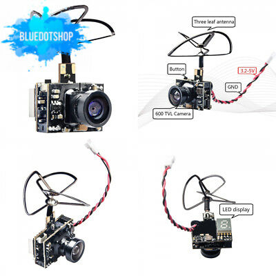 Wolfwhoop Micro Aio 600Tvl Cmos Camera 5.8Ghz 25Mw Fpv Transmitter Combo...