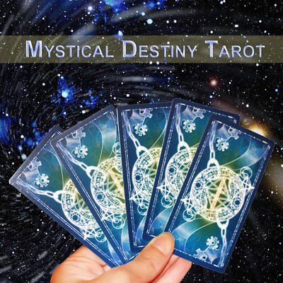 Tarot Cards Game Family Friends Read Mythic Fate Divination Table Games O194 EC