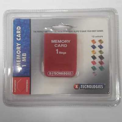 XTR006RE X-Tecnologies - Memory Card 1 MB - colore Rosso