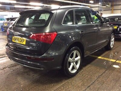 09 Audi Q5 2.0 Tdi 170 S-Line Manual 9 Stamps, Fabulous + Nice Spec