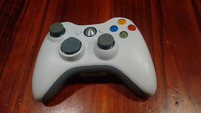 WHITE XBOX 360 Controller Genuine Microsoft (Tested / Working) Standard