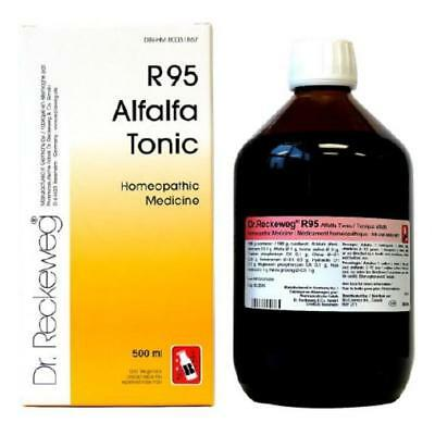 DR RECKEWEG R95 - Homeopathic Alfalfa Tonic for physical/mental