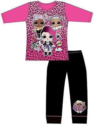 Girls Official Authentic LOL Surprise Dolls Pyjamas Pajama Age 4 -10 Years New